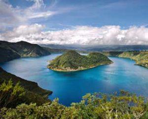 Laguna Cuicocha, Imbabura Province, Ecuador
