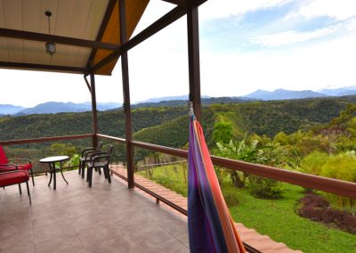 Hammocking at Above the Clouds Guesthouse