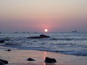 Sunset Puerto Lopez Ecuador