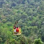 Cable car over the Cloud Forests in Mindo