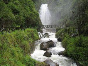 Peguche Waterfall, Ecuador