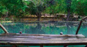agua blanca sulfur lake, Ecuador